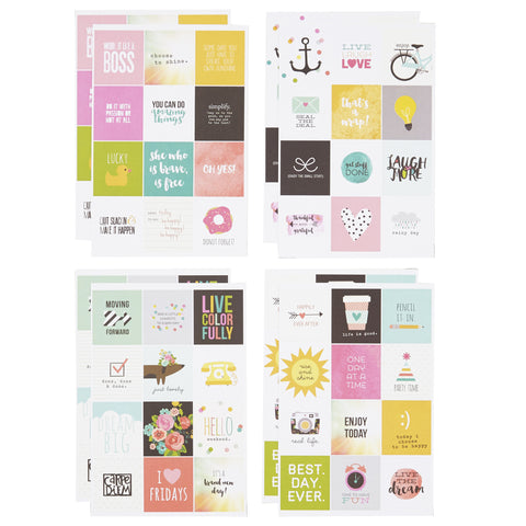 Carpe Diem Insta Quote Stickers - The Heart Desires