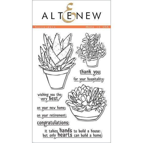 Altenew Succulents - The Heart Desires
