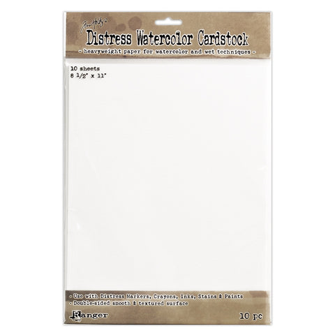 Tim Holtz Distress Watercolor Cardstock 8.5 x 11