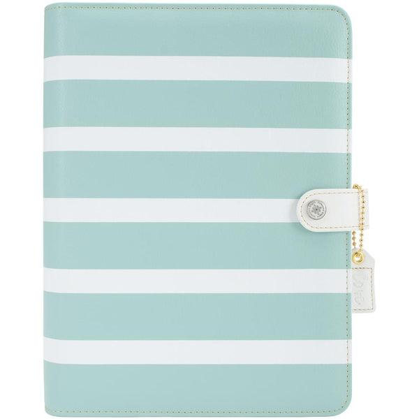 A5 TEAL STRIPE PLANNER KIT - The Heart Desires