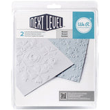 "Next Level Embossing Folders Bouquet 6""X6"" 2/Pkg - The Heart Desires"