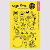 Waffle Flower Sweets Stamp Set