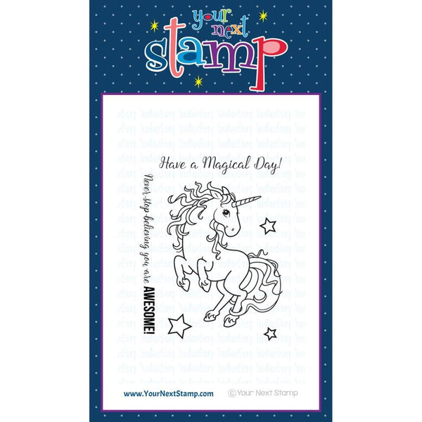 Your Next Stamp Magical Unicorn