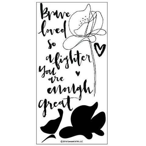 Concord & 9th You Are Enough Stamp Set