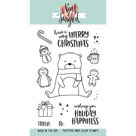 Neat & Tangled Beary Awesome Stamp Set - The Heart Desires