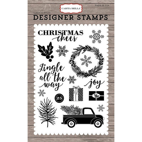 Carta Bella Jingle All The Way Stamp Set - The Heart Desires
