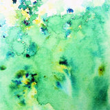 Emerald Green Brusho Watercolors Crystals - The Heart Desires