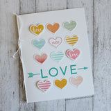 Concord & 9th Heart Smile Stamp Set - The Heart Desires