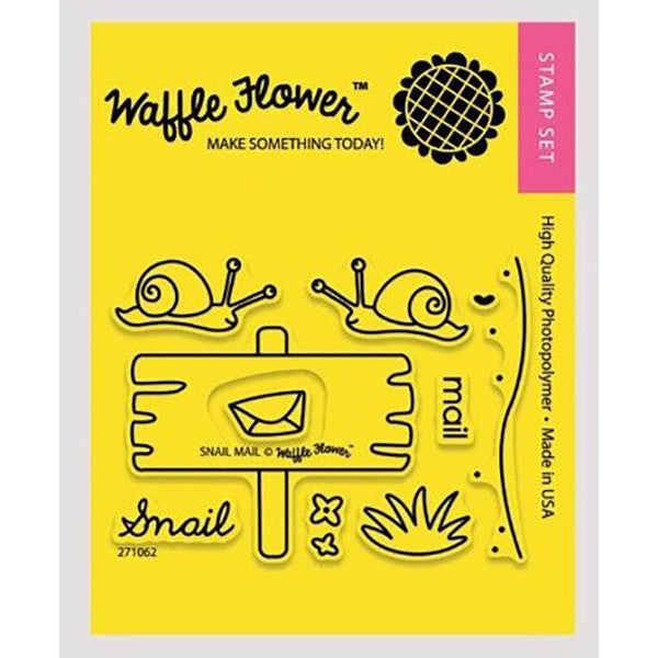 Waffle Flower Snail Mail - The Heart Desires