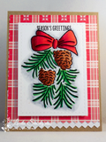 Avery Elle Pinecones Stamps - The Heart Desires