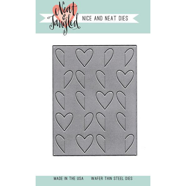 Neat & Tangled Wholehearted Cover Plate Die - Nice and Neat Dies - The Heart Desires