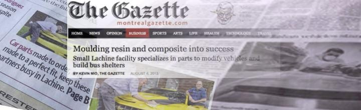 ACS Composite in the Business Section of the Gazette