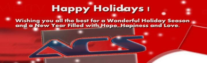 ACS Holiday Greetings 2012 !