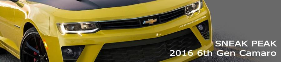 SNEAK PEAK : 2016 Camaro Renders
