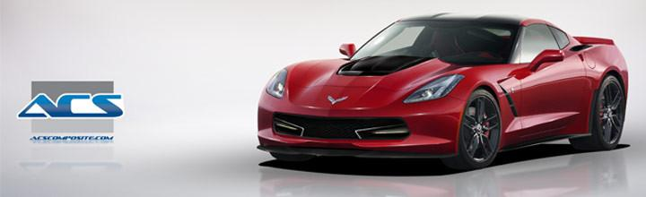 ACS C7 Aerodynamic Parts for the 2014 Corvette Stingray
