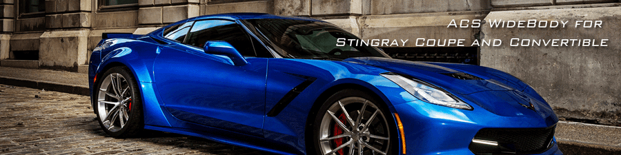 ACS Wide Body Conversion Kit for the Chevrolet Stingray C7 Coupe and Convertible 2014-2019