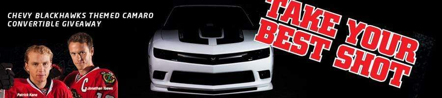 CHEVROLET BLACKHAWKS CAMARO GIVEAWAY