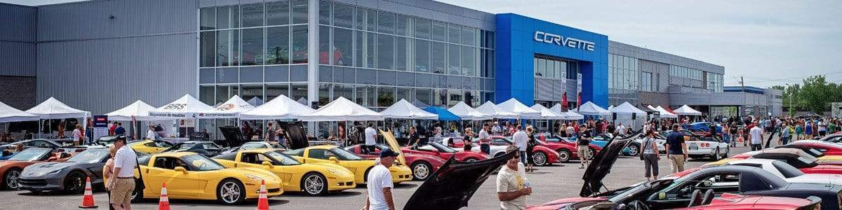 Expo Corvette 2016 at Brossard Chevrolet