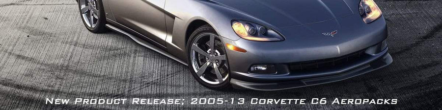 C6 Splitters and rockers for both Z06's and Standard C6 Corvettes