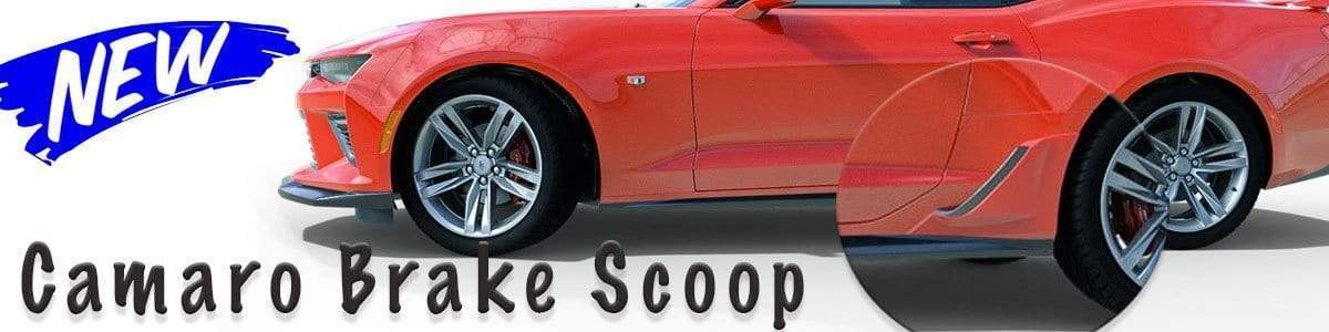 Camaro 2016+ Rear Lower Brake Scoop