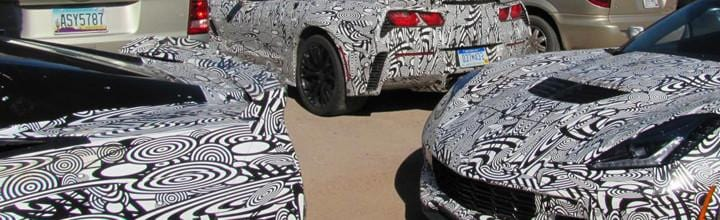 Spotted 2015 Z06 Corvette testing in Arizona