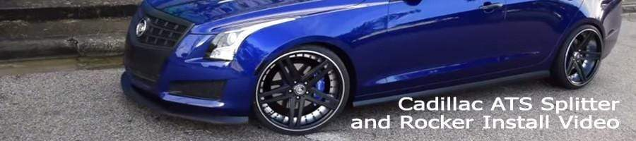 ACS Customer-made Installation Video for Cadillac ATS Aeropack