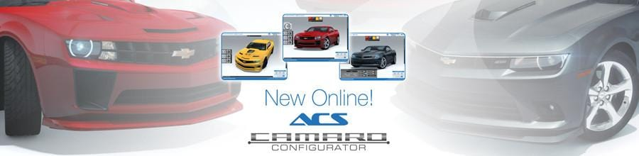 Online Chevrolet Camaro Builder, create your own Camaro renders.