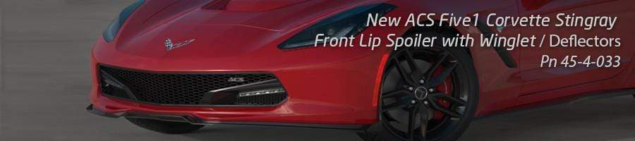 ACS Five1 Front Lip Spoiler / Splitter for the C7 Corvette