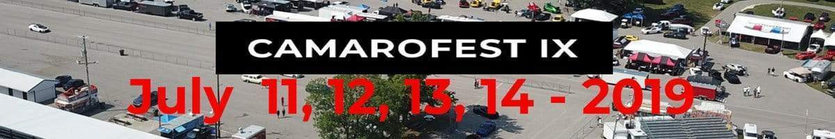 It's a festival of Camaros! It's Camarofest IX | Come See ACS July 11-14, 2019 in Bowling Green, Kentucky