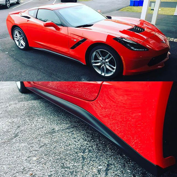 ACS Composite Zero1 Side Rockers Skirts for C7 Stingray 45-4-001