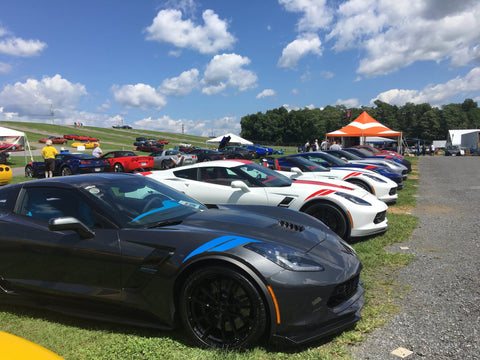 Corvettes at Carlisle, 2018 | ACS Composite