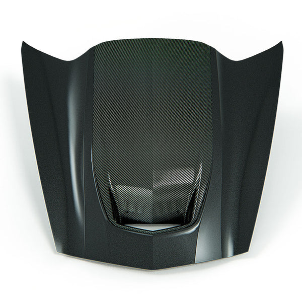 ACS Zero7 Extractor Carbon Hood with Exposed Carbon Weave