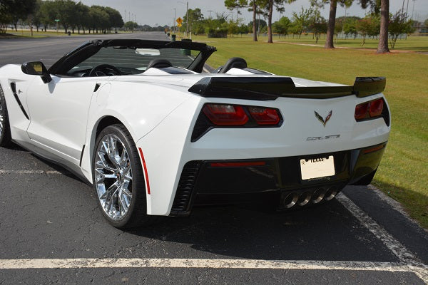 Mr. Smith's Arctic White Convertible ACS Composite GM Rear Widebody