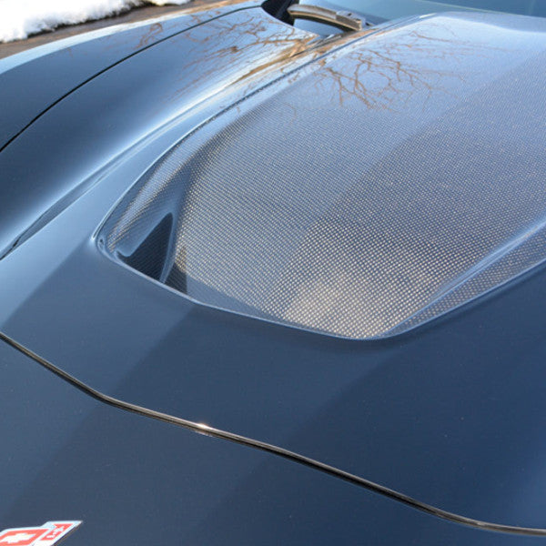ACS Composite Zero7 Extractor Carbon Hood with Exposed Carbon Weave