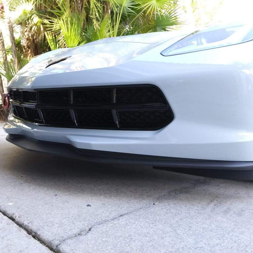 C7 Stage 1 Front Splitter