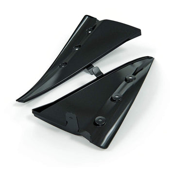 Enhanced Front Wheel Splash Guard Set Textured Black / Do Not Add Rear Wheel Mudflaps 45-4-063 TXT Mud Flap