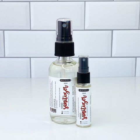 Hand Sanitizer Spray: Spice