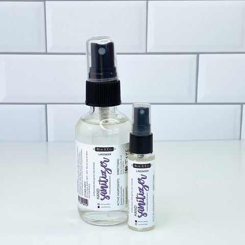 Hand Sanitizer Spray: Lavender