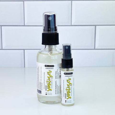 Hand Sanitizer Spray: Lemongrass