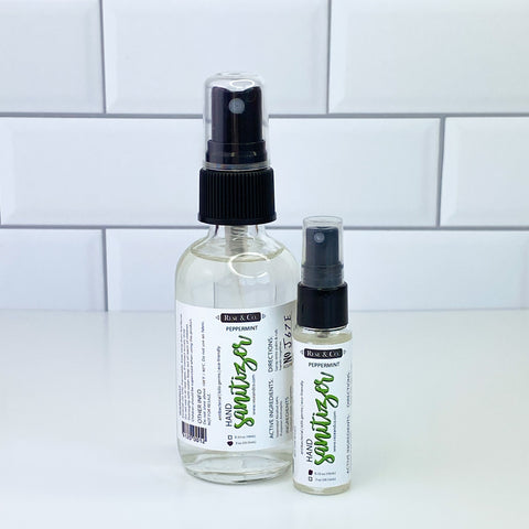 Hand Sanitizer Spray: Peppermint