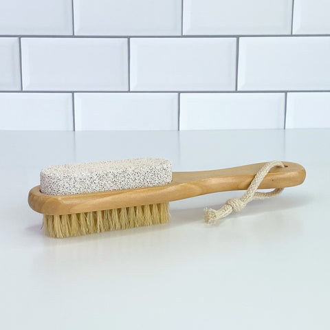 Wood Pumice Brush