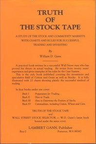 Truth of the Stock Tape and Wall Street Stock Selector - W.D.Gann - Digital Download