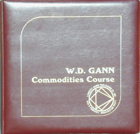 Original Commodity Market Trading Course