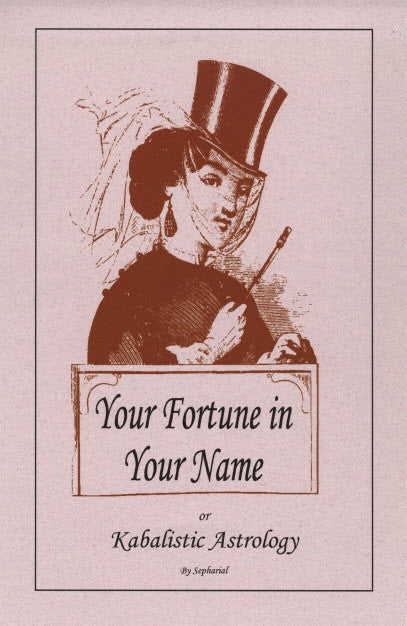 Your Fortune In Your Name: Kabalistic Astrology