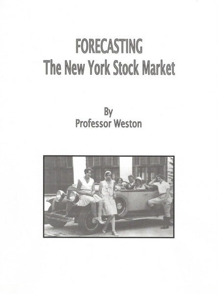 Forecasting The New York Stock Market