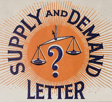1 test Supply and Demand Letter Subscription