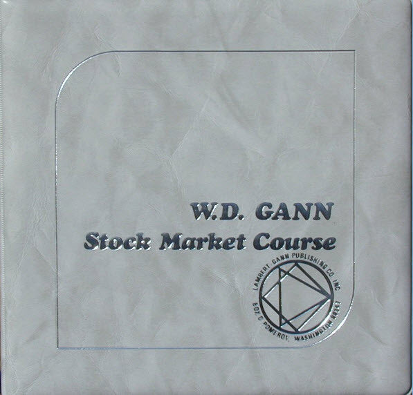Special Bundle -Original Stock Market Trading Course plus 6 Gann books