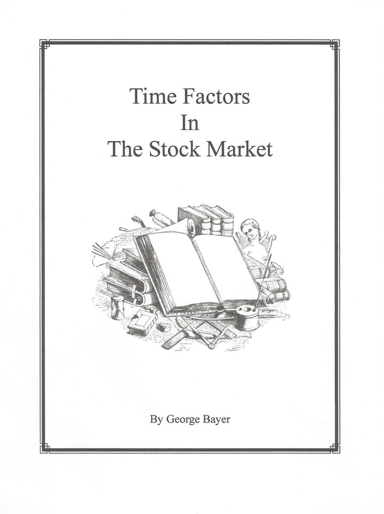 Time Factors In The Stock Market