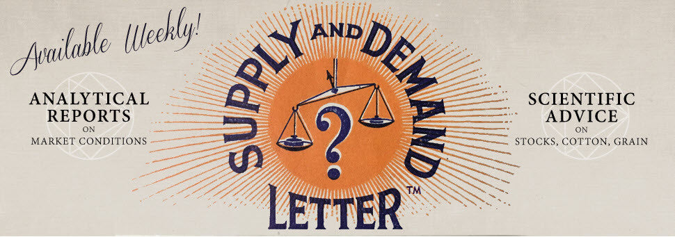 Supply and Demand Letter