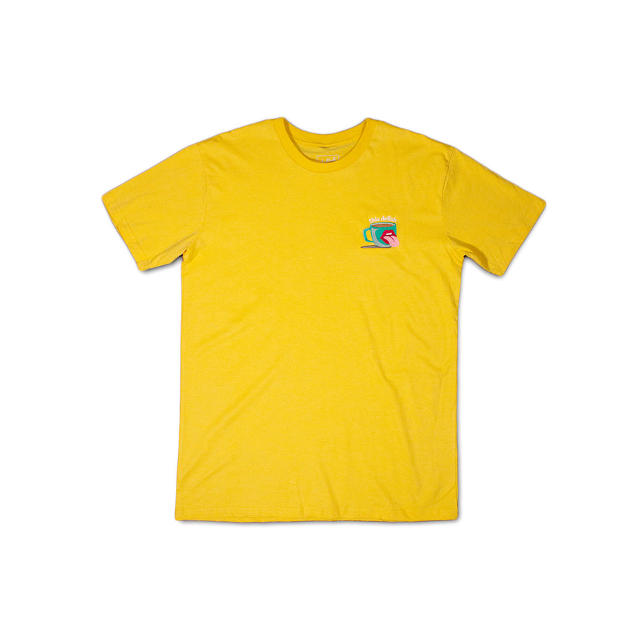 Topped Off Yellow T-Shirt
